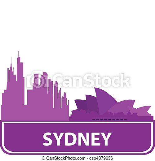 Sydney - csp4379636