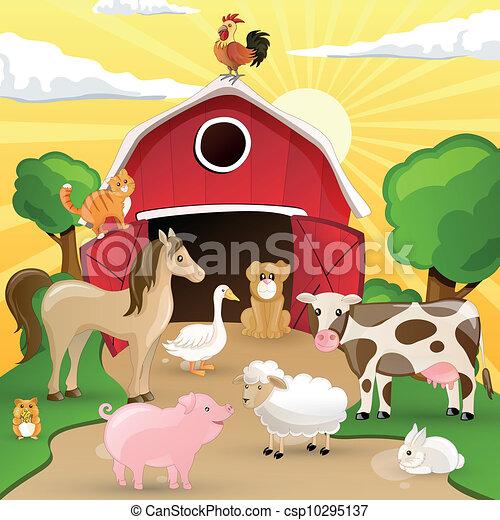 Tierzucht mit Tieren - csp10295137