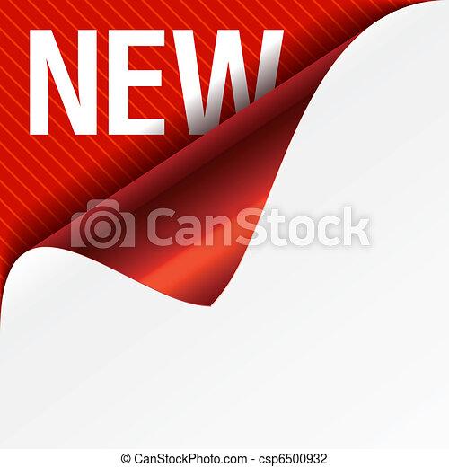 Unterschreibe eine neue - Lockenecke - csp6500932