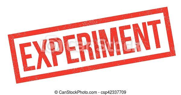Experimentierender Gummistempel - csp42337709