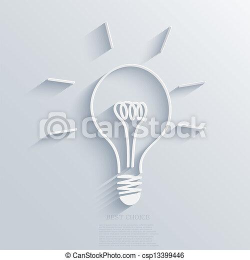 Vector-Idee Hintergrund. Eps10 - csp13399446