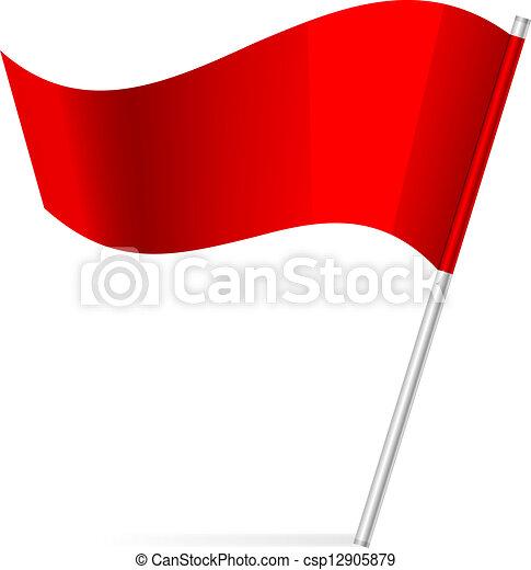 Vektor Illustration der Flagge - csp12905879