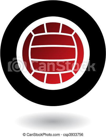Volleyball-Logo - csp3933756