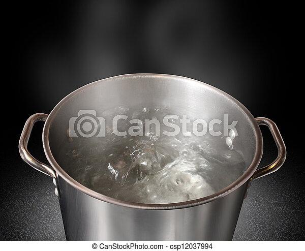 Wasser kochen - csp12037994
