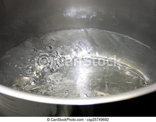 Wasser kochen. - csp25749692