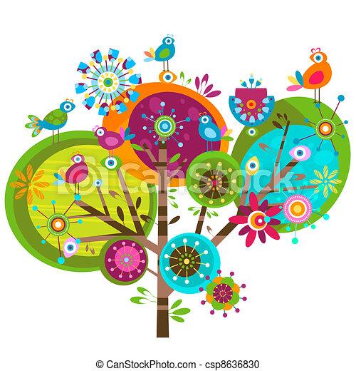 Winzige Blumen - csp8636830