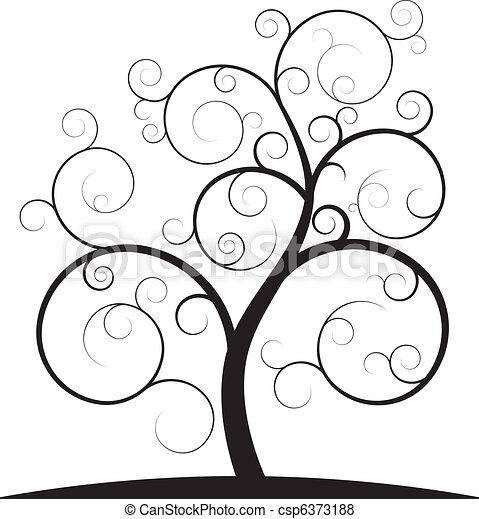 Wirbelbaum - csp6373188