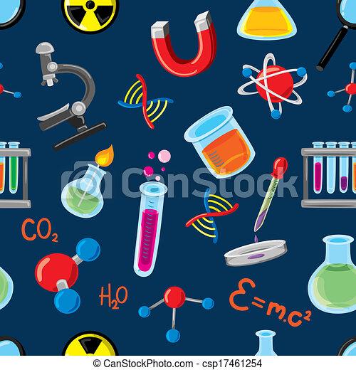 wissenschaft, füllen, hintergrund - csp17461254