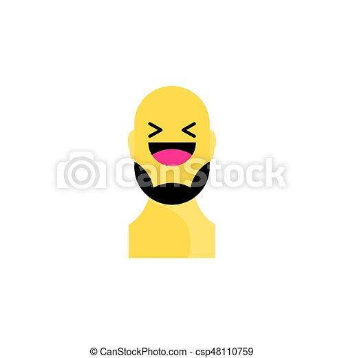 emojis zum ausdrucken  set aus verschiedenen emoji mit