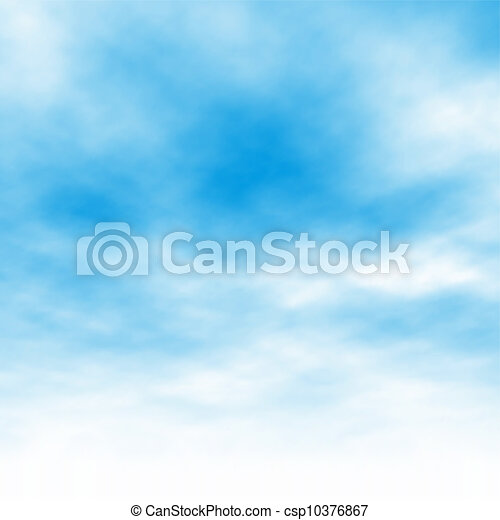 Wolkenhintergrund - csp10376867