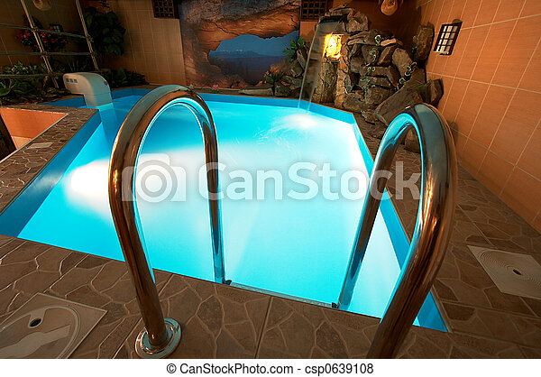 Wunderschöner Pool - csp0639108
