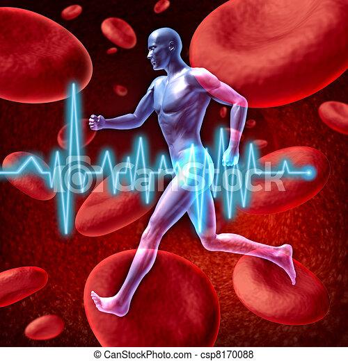 zirkulation, kardiovaskulär - csp8170088
